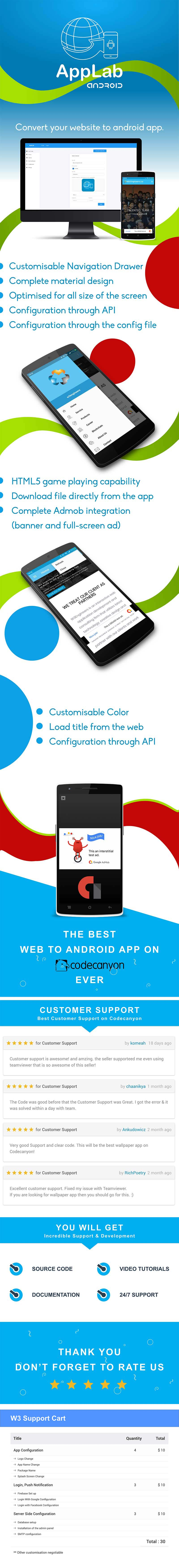 Applab - A Web to Android App Generator Download Nulled - Lion Market