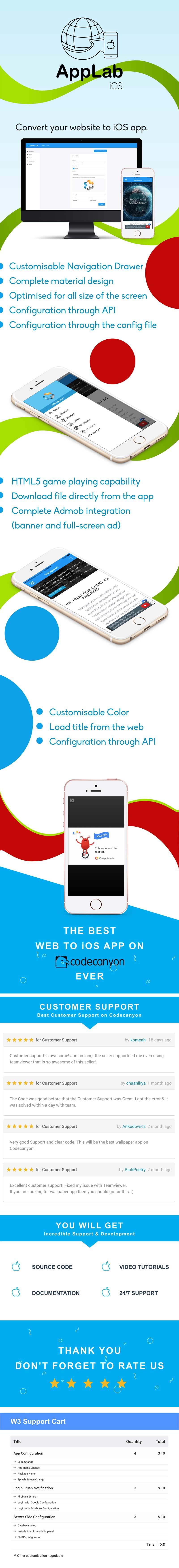 Applab - An Web to iOS App Generator - 7