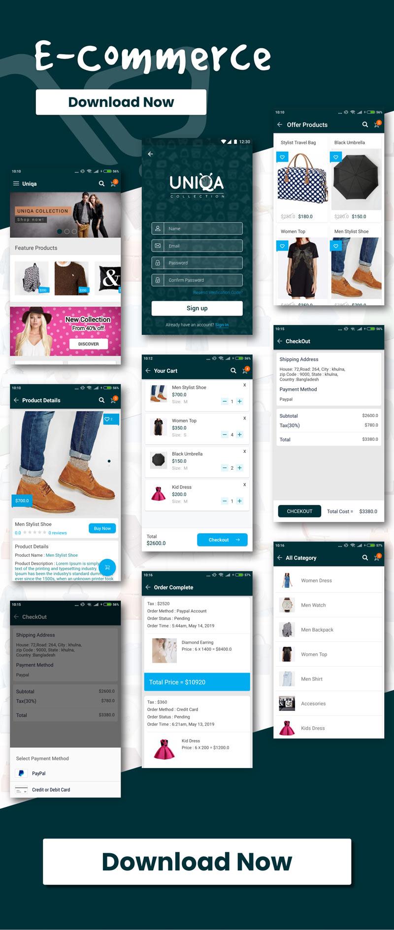 UIShop - Multipurpose android UI Template - 2