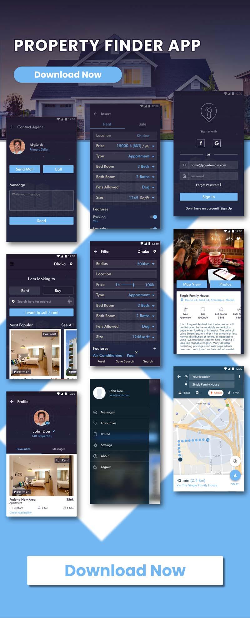 UIShop - Multipurpose android UI Template - 3